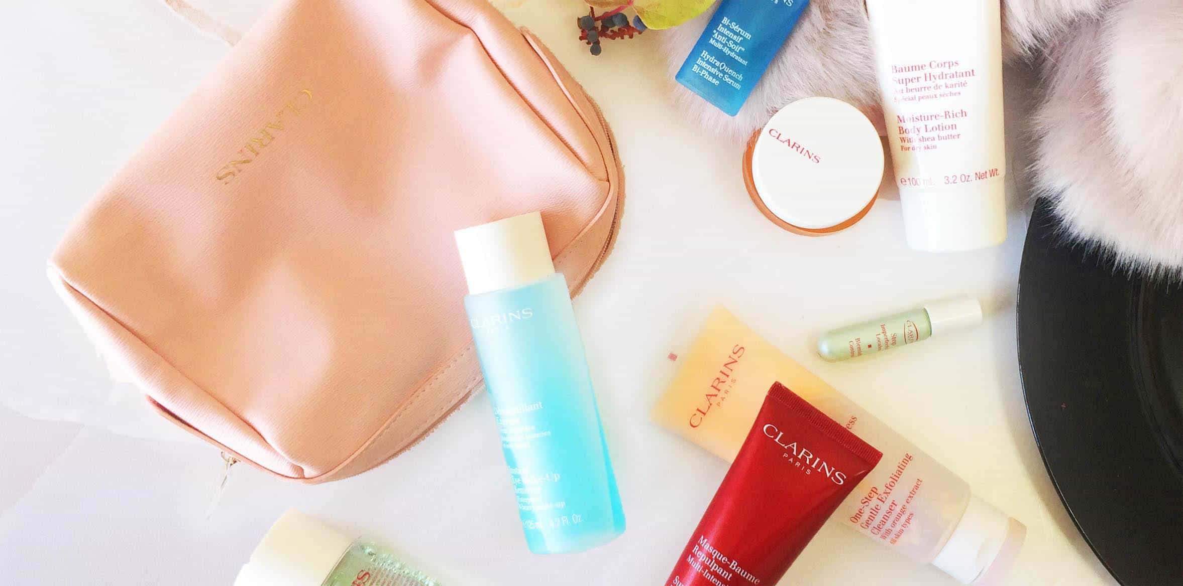 Clarins skin care reviews