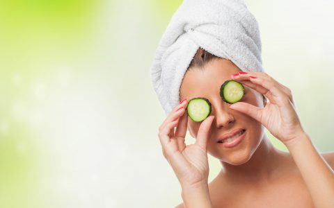 How to get rid of dark circles around your eyes-Designed by Freepik -cucumbers