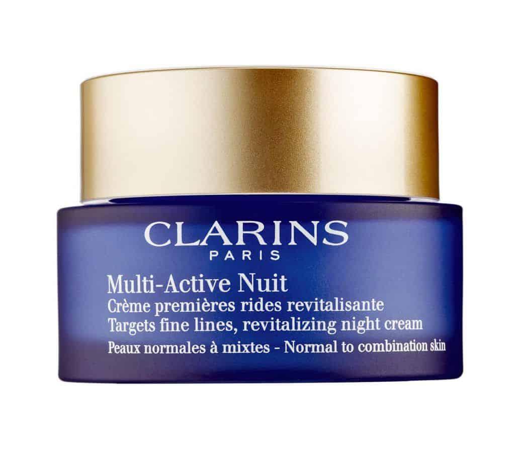 clarins multi active nuit