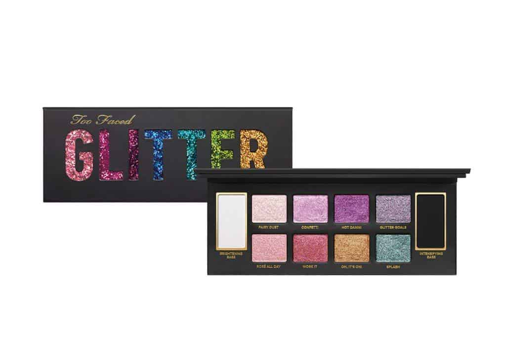 too faced glitter palette