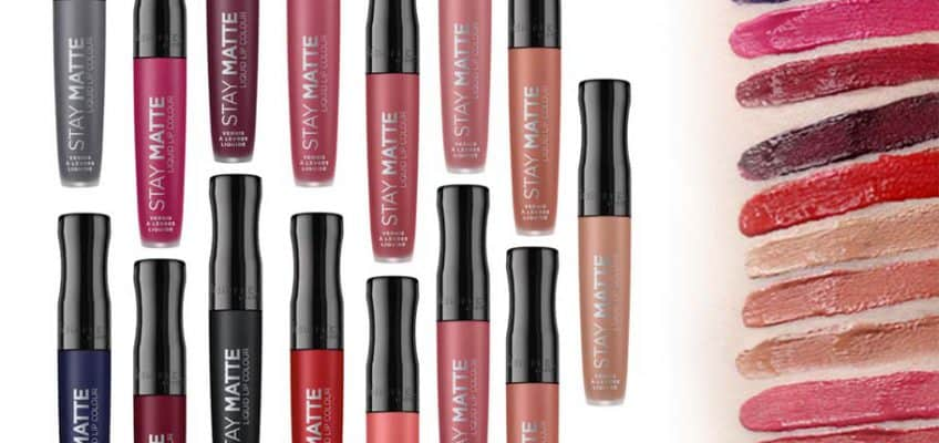 rimmel stay matte liquid lipstick review
