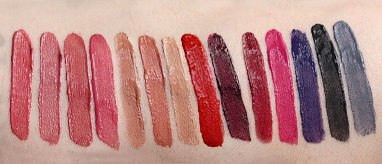 rimmel swatches
