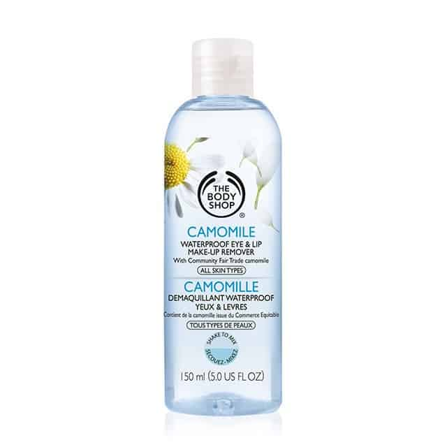 the body shop camomile-waterproof-eye-lip-make-up-remover
