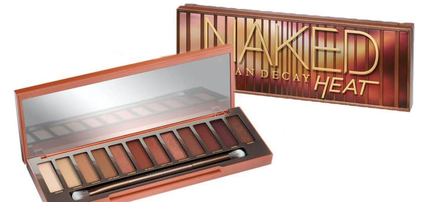 Urban Decay Eyeshadow Palette- The NEW Naked Heat