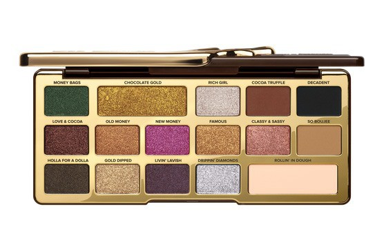 too faced new eyeshadow palette