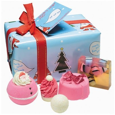 bomb cosmetics santas sleigh