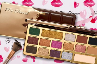 The New Too Faced Palette – Chocolate Gold Eyeshadow Palette