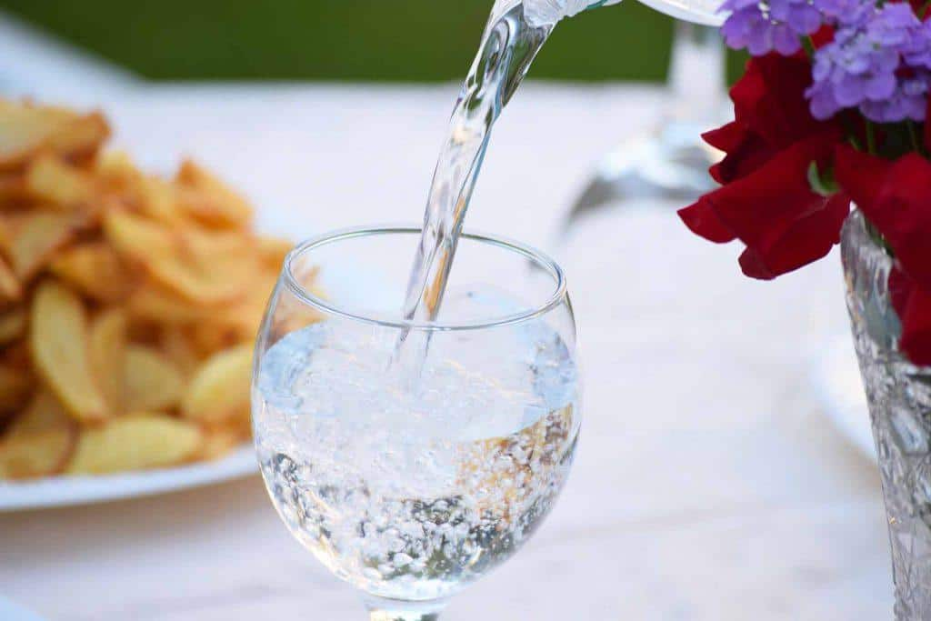 Hydrate through water