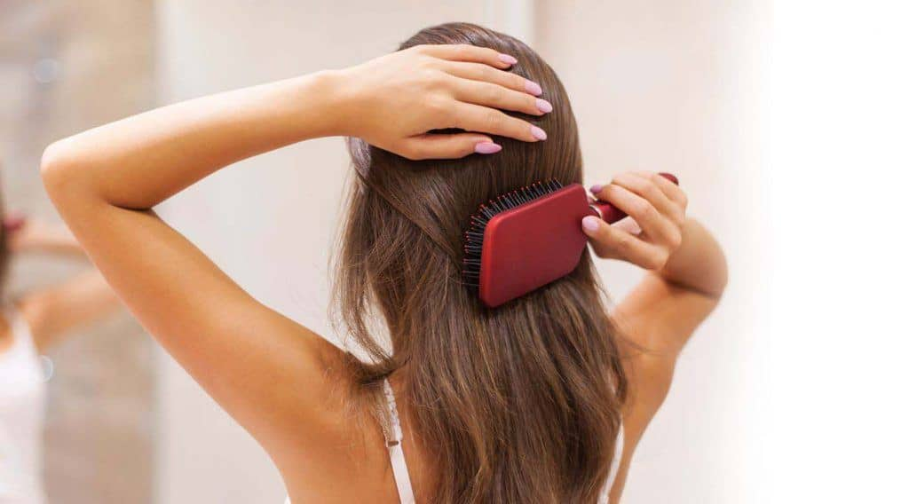 Are You Guilty of Brushing your Hair the Wrong Way?