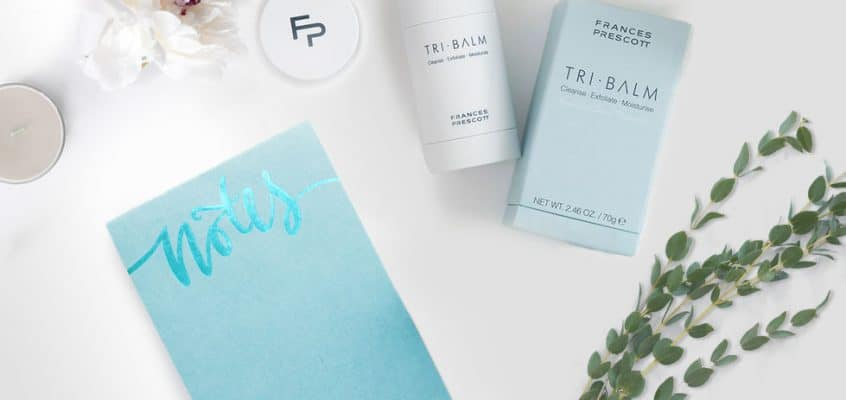 Frances Prescott New Tri Balm Review