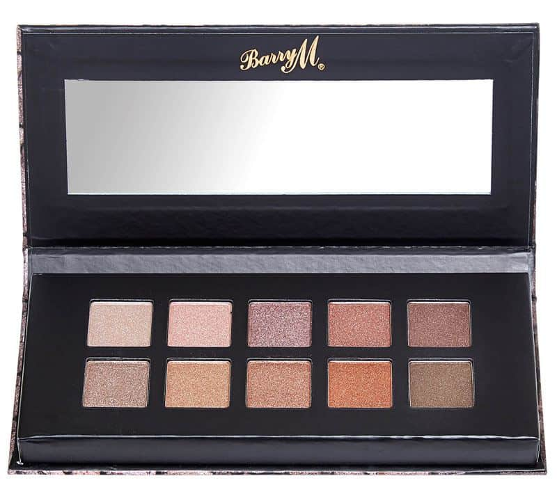 Barry M Deluxe Metals Eyeshadow Palette