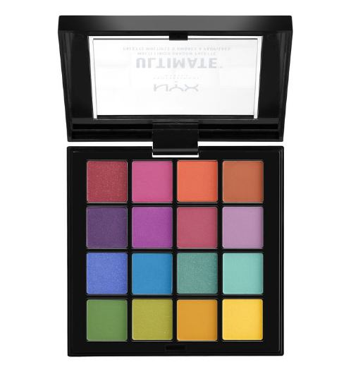 NYX Professional Makeup Ultimate Eyeshadow Palette - Brights