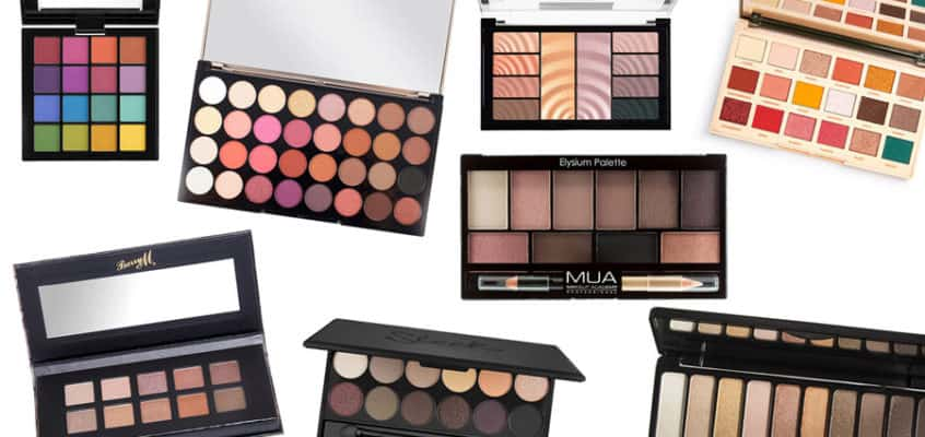 The Best Cheap Eyeshadow Palettes 2020