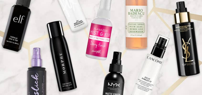The Best Makeup Setting Sprays That You Can Buy in 2019
