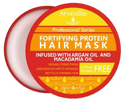 Fortifying Protein Hair Mask By Arvazallia