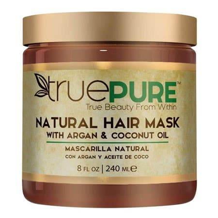 TruePure Natural Hair Mask With Argan Oil and Coconut Oil