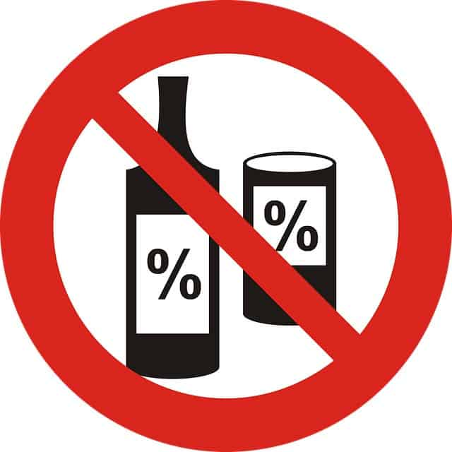 Avoid products with alcohol in the colder months