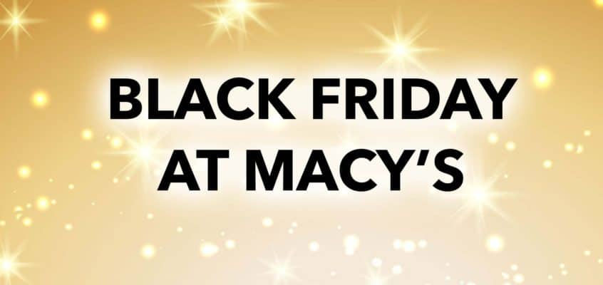 Black Friday Deals at Macy's for Makeup & Beauty Lovers