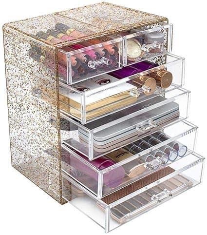 Acrylic Storage Vanity