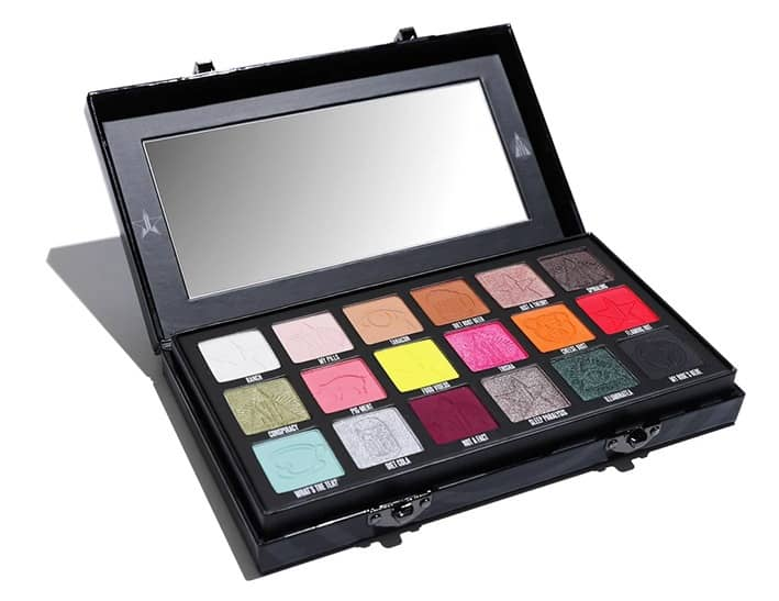 The Conspiracy Eyeshadow Palette shades