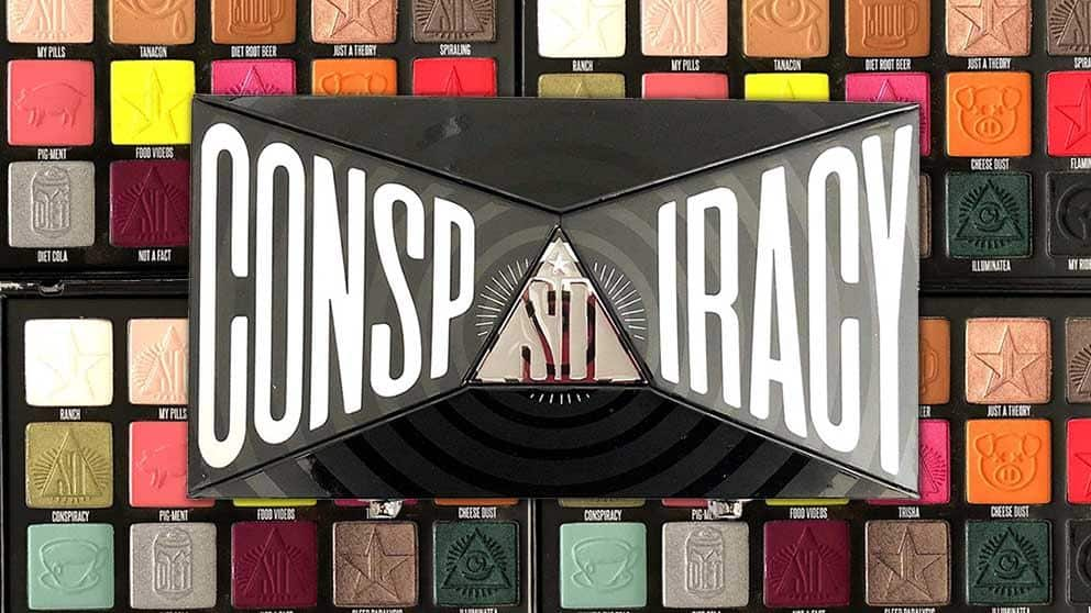 Whats the Tea Shane Dawson and Jeffree Star Collab Conspiracy Collection Review