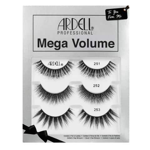 Ardell Mega Volume Lashes Gift Set (3 Pairs)