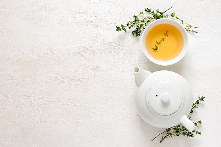 drink tea instead of coffee to detox after the holidays