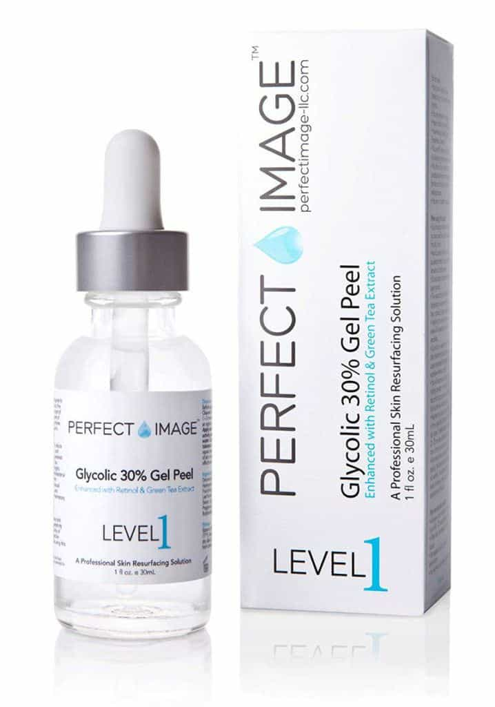 use chemical peel to clear acne scars