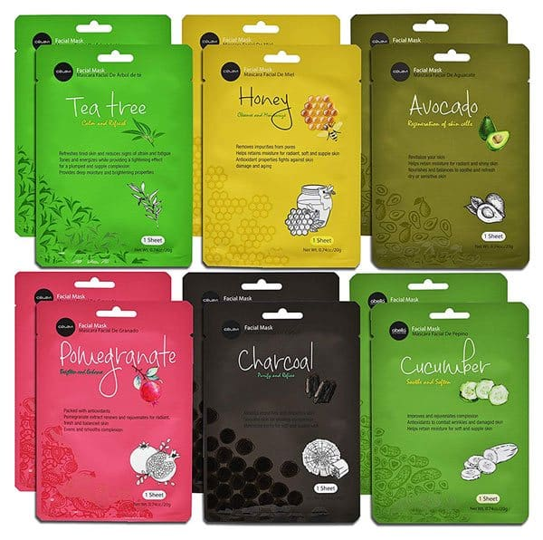Celavi Essence 12-Pack Facial Mask
