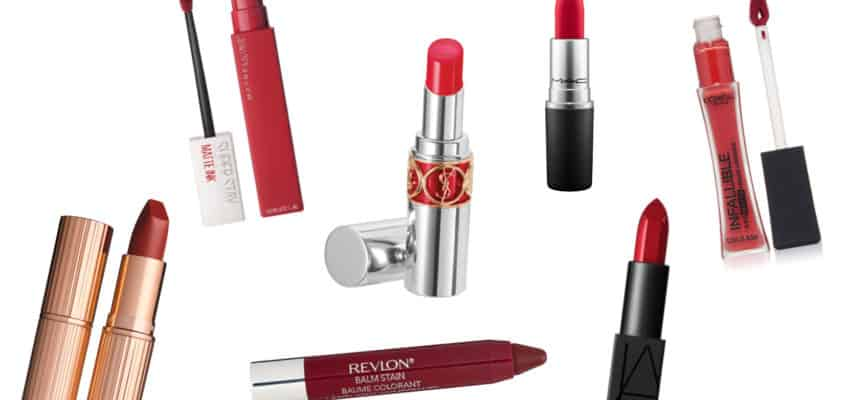 Get Red Hot Lips With The Best Red Lipstick for Fair Skin 2021