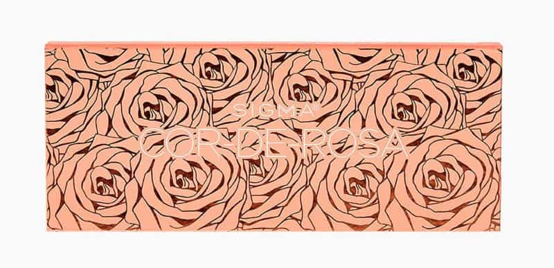 Cor De Rosa Eyeshadow Palette packaging