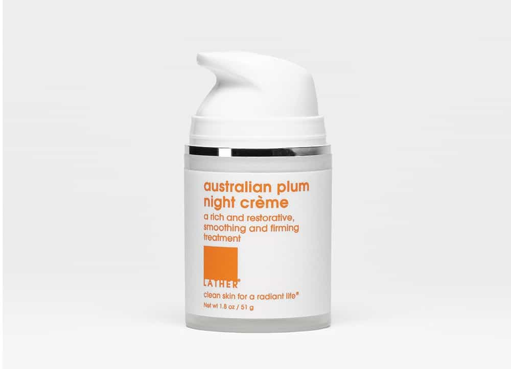 Lather Australian Plum Night Crème