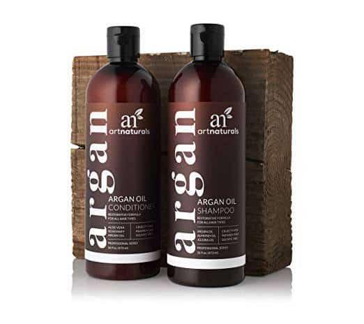 Use Argan oil shampoo