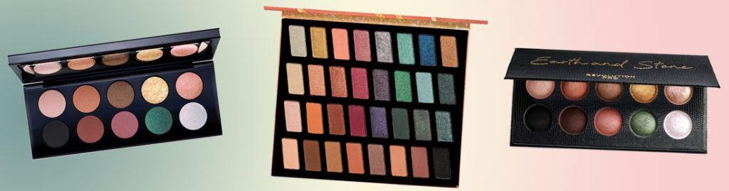Bronze Greens eyeshadow palette dupes