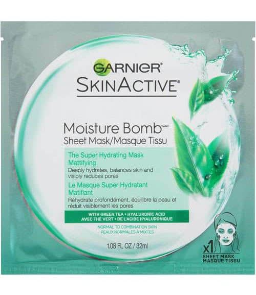 Garnier Moisture Bomb The Super Hydrating Sheet Mask-Mattifying