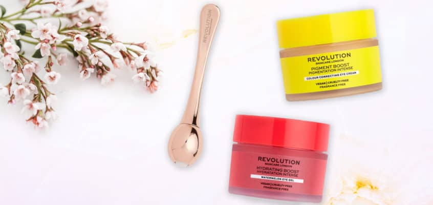 Revolution Colour Correcting Eye Cream, Eye Gel, & Eye Roller Review