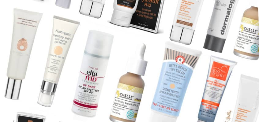 The 10 Best Tinted Sunscreens For The Face in 2021