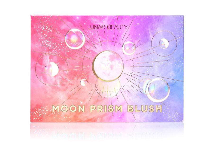 Moon Prism Blush Palette packaging