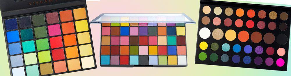 Rainbow eyeshadow palette dupes