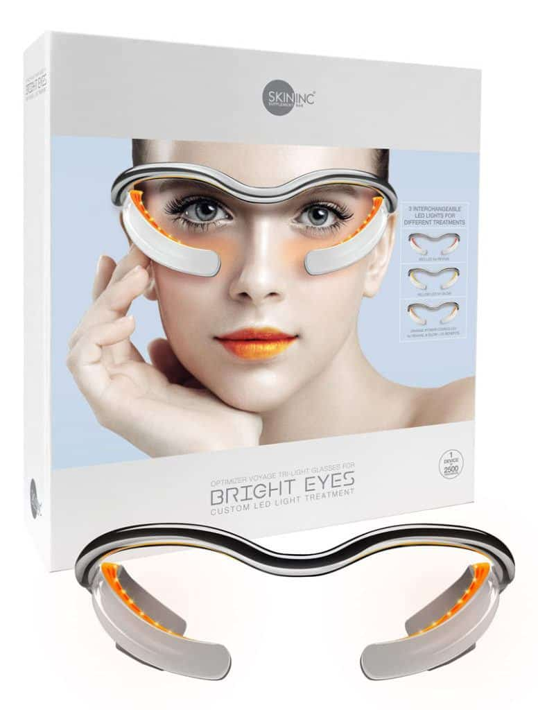 Skin Inc. Optimizer Voyage Tri-Light Glasses LED Light Treatment for Eyes