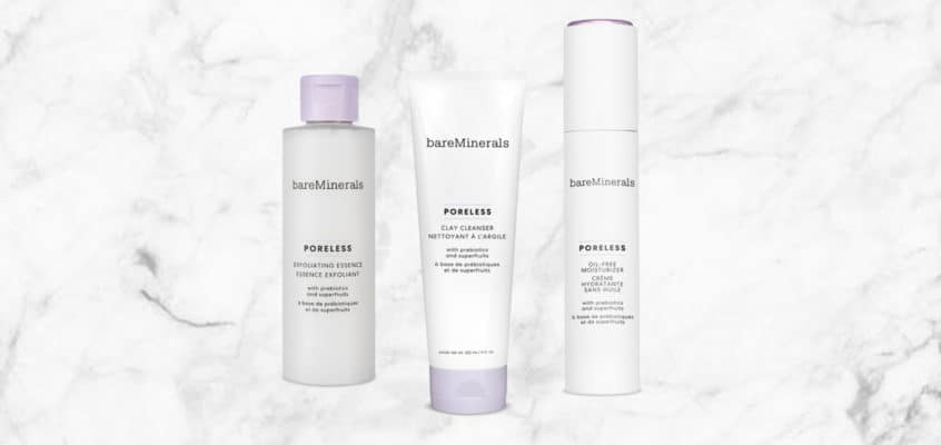 Fill Your Pores With the bareMinerals Poreless 3-Step Regimen