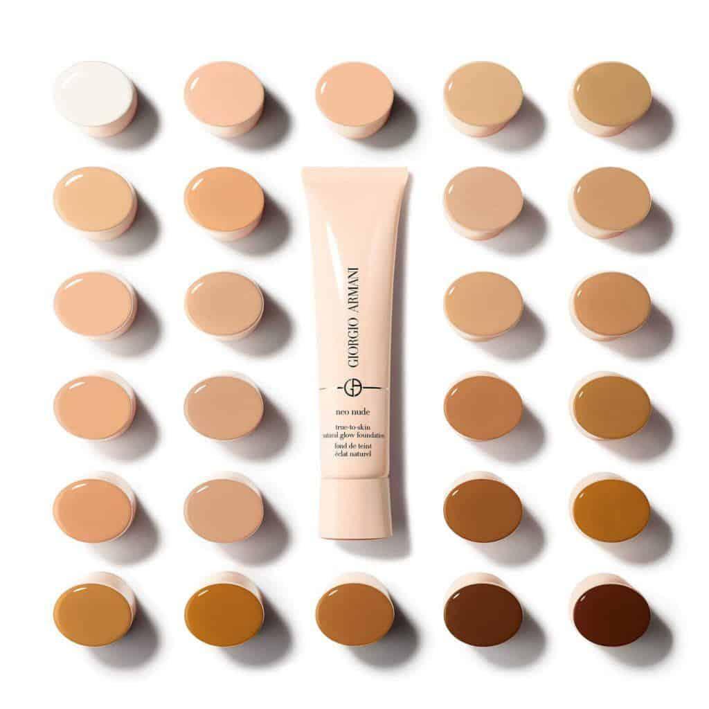 armani neo nude foundation shades