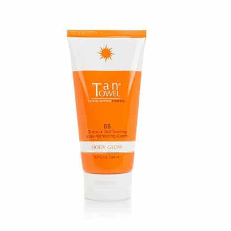 Tan Towel Gradual Self-Tanning Body Perfecting Cream