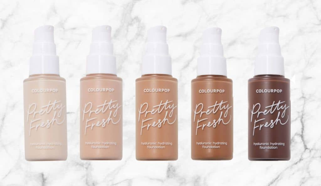 The New ColourPop Pretty Fresh Foundation Review