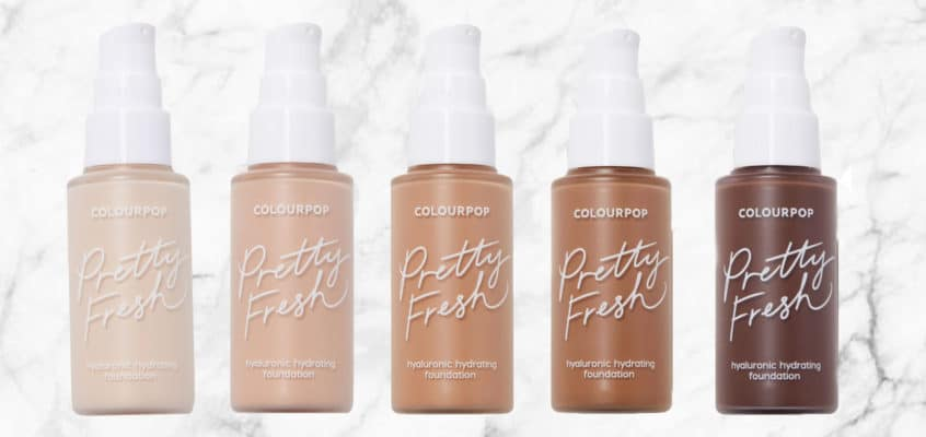 Hit or Miss!? The New ColourPop Pretty Fresh Foundation Review