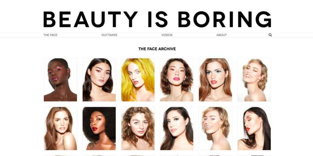 beauty is boring blog