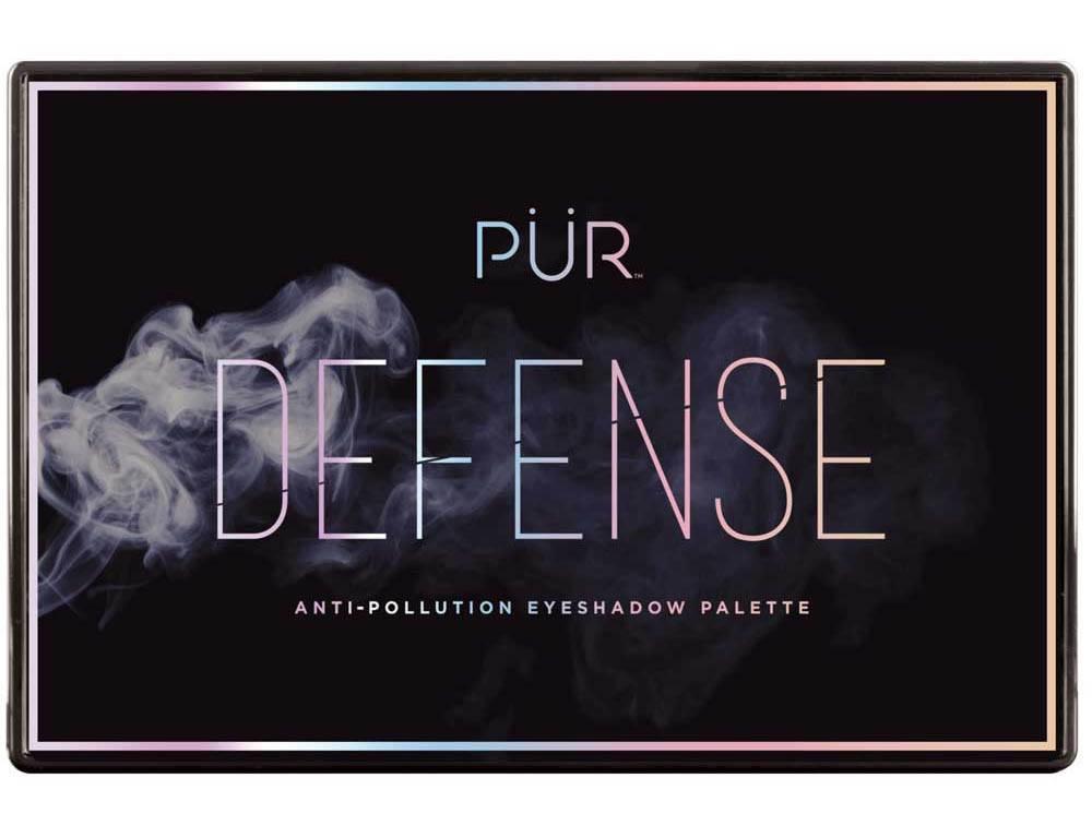 PÜR Cosmetics Defense 12-Piece Anti-Pollution Eyeshadow Palette packaging
