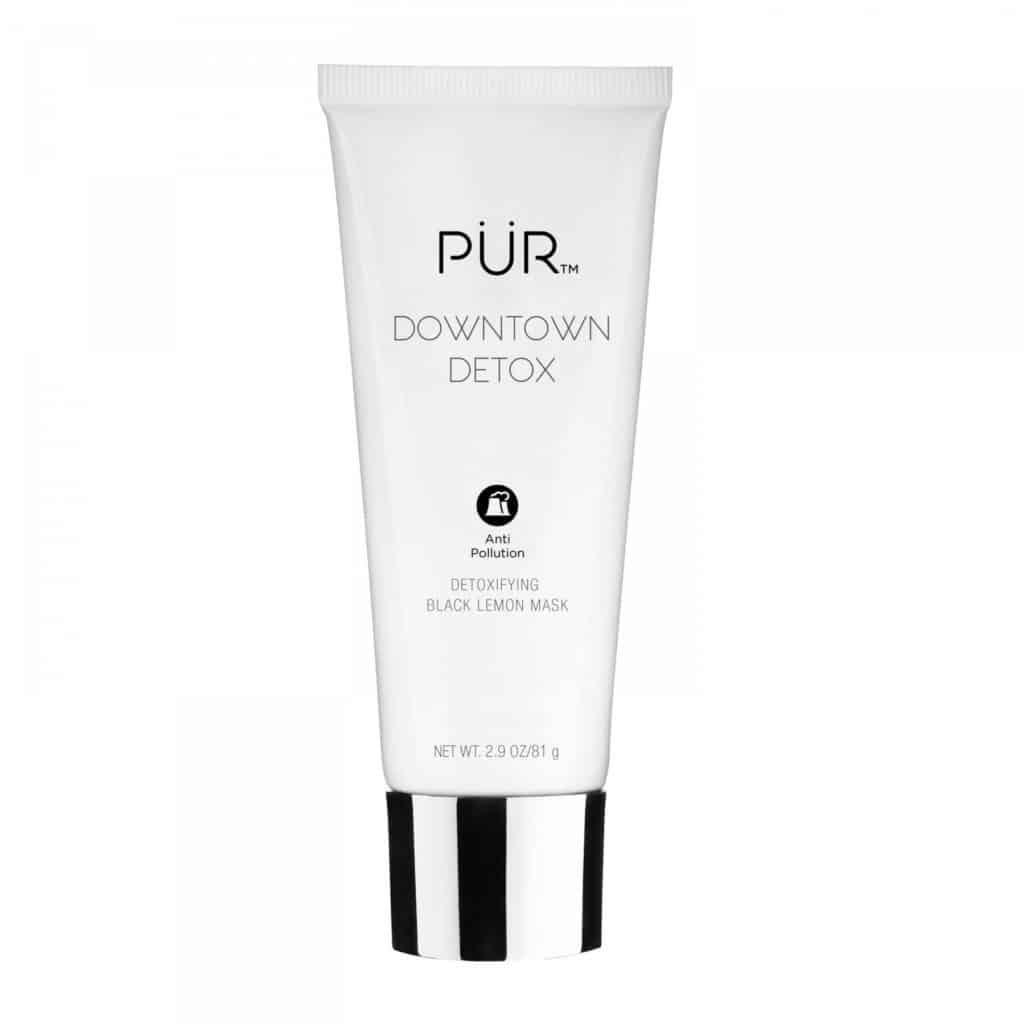 PÜR Cosmetics Downtown Detox Detoxifying Black Lemon Mask