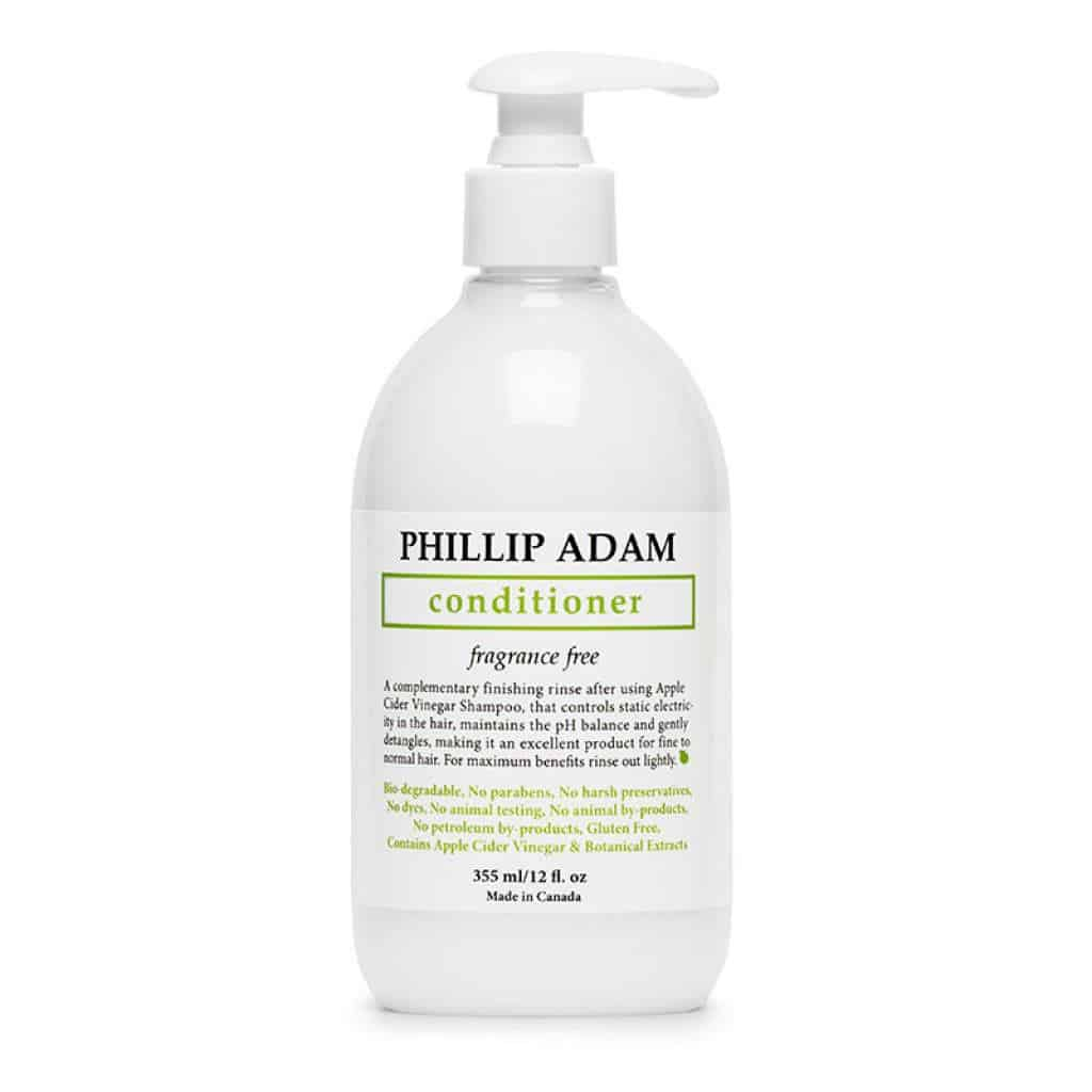 Phillip Adam Fragrance-Free Conditioner - Apple Cider Vinegar Formula