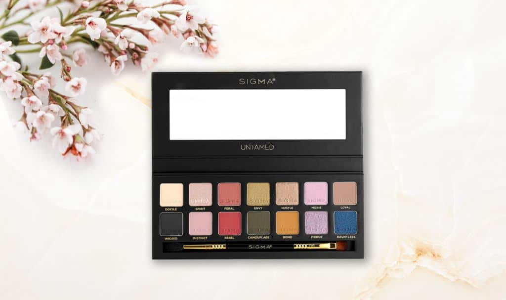 Sigma Beauty Untamed Eyeshadow Palette review